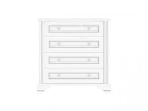 White 008 Comoda 4S 90 Snow Ash-Tree/Silver Pine