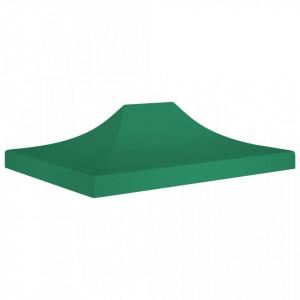 Acoperiș pentru cort de petrecere, verde, 4 x 3 m, 270 g/m²