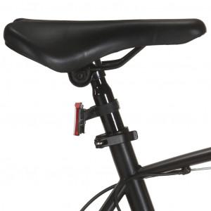Bicicletă montană 21 viteze, roată 29 inci, negru, cadru 53 cm