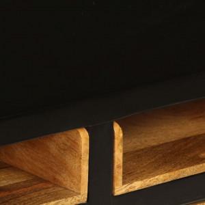 Comodă TV din lemn masiv de mango, 120 x 30 x 50 cm