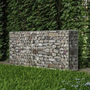 Coș gabion din oțel, 200 x 50 x 100 cm