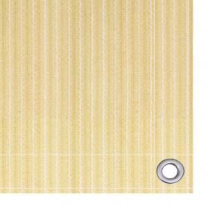 Covor pentru cort, bej, 400x400 cm