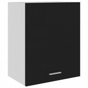 Dulap suspendat, negru, 50 x 31 x 60 cm, PAL