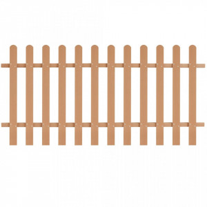 Gard din șipci, 200 x 100 cm, WPC