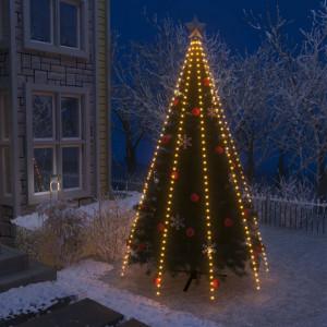 Instalație brad de Crăciun tip plasă cu 400 LED-uri IP44 400 cm