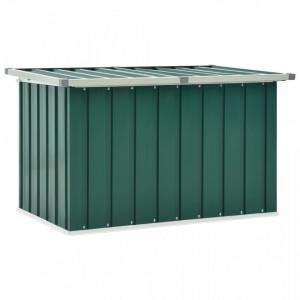 Ladă de depozitare pentru grădină, verde, 109 x 67 x 65 cm