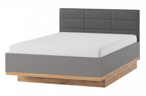 Livorno 66 rama de pat 160x200 oak wotan/bazaltowo-grey