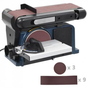 Mașină de șlefuit electrică cu disc și bandă, 370 W, 150 mm