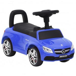 Mașinuță pentru primii pași Mercedes-Benz C63, albastru