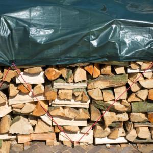 Nature Prelată pentru lemne, verde, 2x8 m, PE