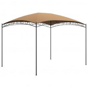 Pavilion, gri taupe, 3 x 4 x 2,65 m, 180 g/m²