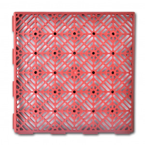 Plăci plastic pentru podea 29 x 29 cm, 24 buc