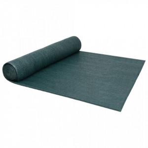 Plasă pentru intimitate, verde, 2 x 10 m, 150 g/m², HDPE
