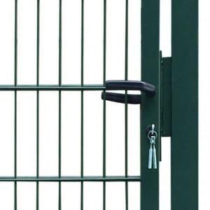 Poartă 2D pentru gard (simplă) 106 x 210 cm, verde