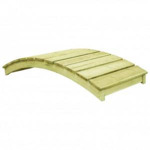Pod de grădină, 170 x 74 cm, lemn de pin tratat