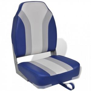 Scaun pliabil cu spătar înalt pentru barcă