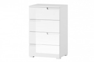 Selene 2 comoda white high gloss/white