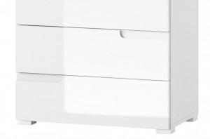 Selene 4 comoda white high gloss/white