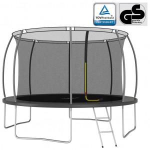 Set trambulină rotundă, 366x80 cm, 150 kg