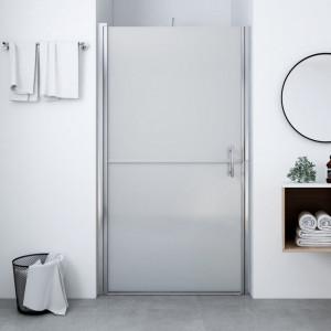 Ușă de duș, 100 x 178 cm, sticlă mată securizată