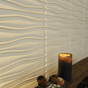 WallArt Panouri de perete 3D Flows, 12 buc., GA-WA14