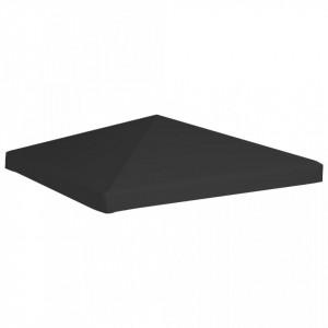 Acoperiș de pavilion, negru, 3 x 3 m, 270 g/m²