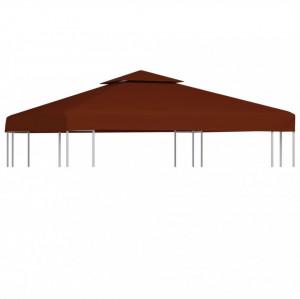 Acoperiș pavilion cu 2 niveluri, cărămiziu, 3 x 3 m, 310 g/m²