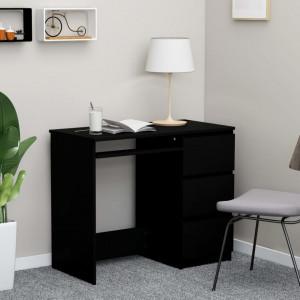Birou, negru, 90 x 45 x 76 cm, PAL