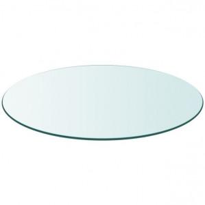 Blat masă din sticlă securizată rotund 700 mm