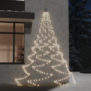 Brad de perete cârlig metalic alb cald 260 LED 3 int/exterior