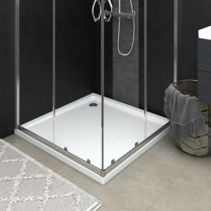 Cădiță de duș pătrată din ABS, 90x90 cm