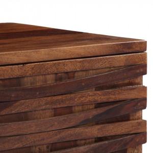 Comodă TV, 120 x 30 x 40 cm, lemn masiv de sheesham
