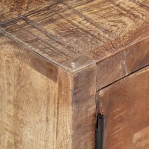Comodă TV, 120 x 30 x 40 cm, lemn masiv reciclat