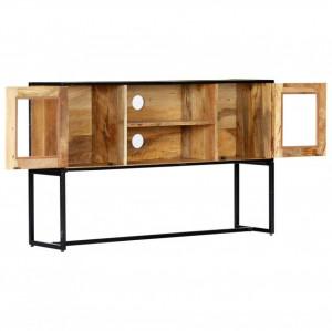 Comodă TV, 120 x 30 x 75 cm, lemn masiv reciclat