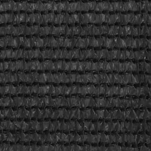 Covor pentru cort, antracit, 400x400 cm
