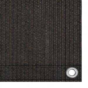 Covor pentru cort, maro, 200x400 cm