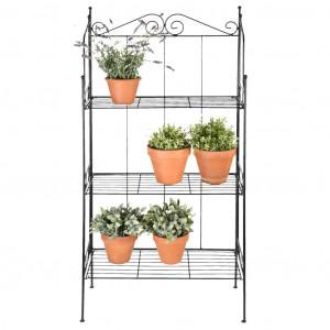 Esschert Raft pentru plante cu 3 niveluri, L