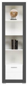 Gray gr-6 white mat-graphite biblioteca