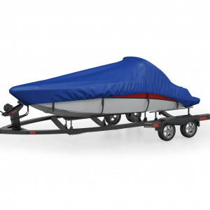 Husă pentru barcă, albastru, 605x289 cm