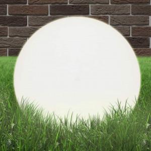 Lampă bol cu LED, sferică, 50 cm, PMMA