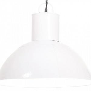 Lampă suspendată, 25 W, alb, rotund, 48 cm, E27