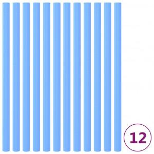 Manșoane din spumă stâlp trambulină, 12 buc., albastru, 92,5 cm
