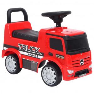 Mașinuță pentru pași Mercedes-Benz, roșie