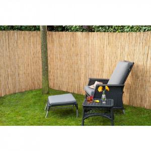 Nature Paravan de grădină, 500x100 cm, trestie bambus 6050120