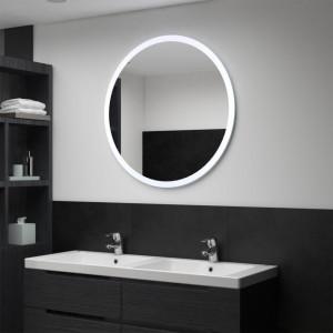 Oglindă cu LED de baie, 80 cm