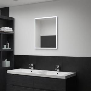 Oglindă cu LED de perete de baie, 50 x 60 cm