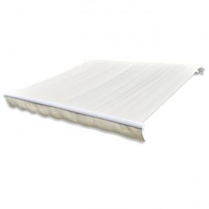 Pânză de copertină, crem, 4 x 3 m, (cadrul nu este inclus)
