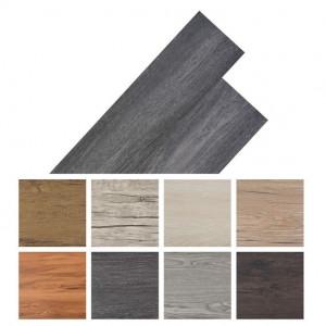 Plăci de pardoseală autoadezive, negru și alb 5,02 m², 2 mm PVC