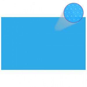 Prelată de piscină, albastru, dreptunghiular, 800 x 500 cm, PE