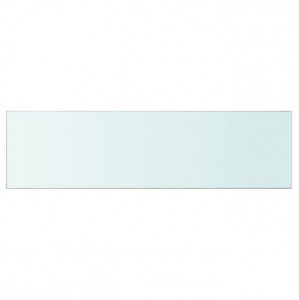 Raft din sticlă transparentă, 110 x 30 cm